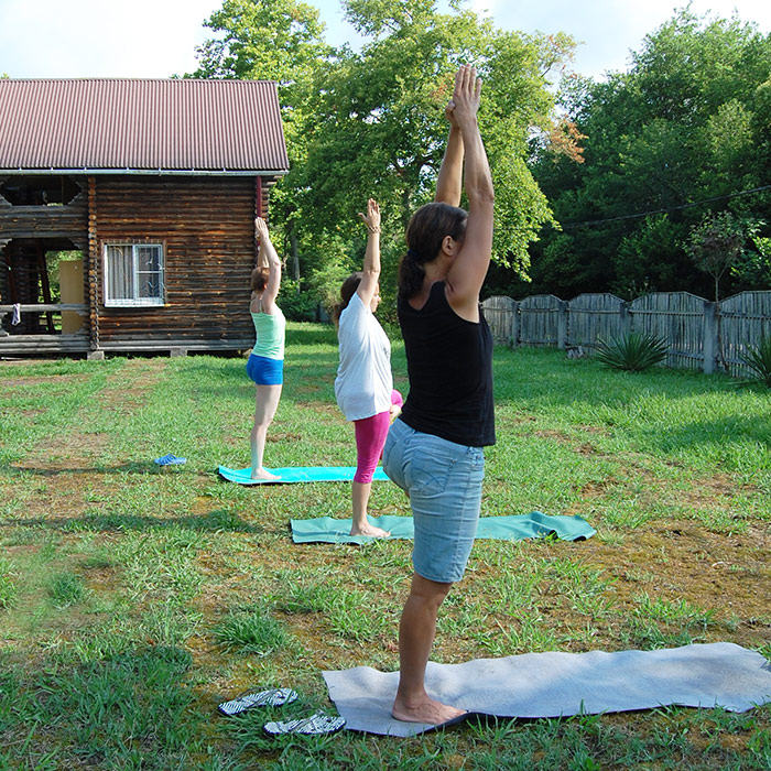 Йога в Абхазии. Тамыш