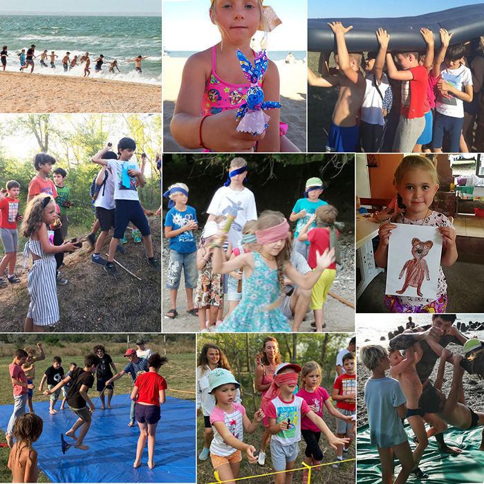 Детский дневной лагерь на море
